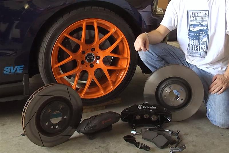 Ford Racing M 2300 T Mustang Brake Install Lmr Com