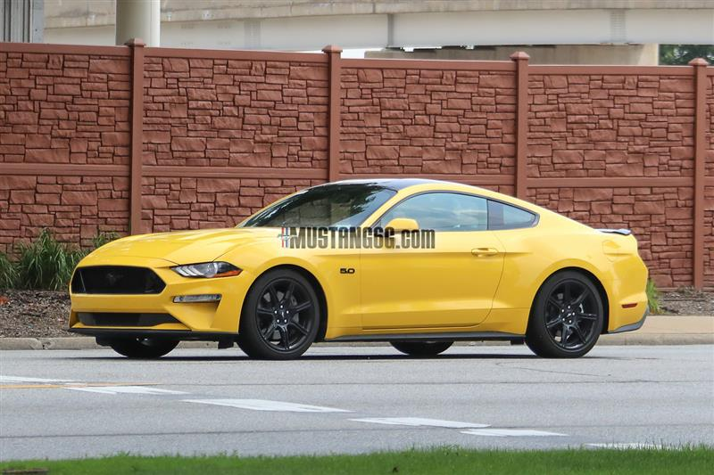 2018 Mustang Triple Yellow - 2018 Mustang Triple Yellow