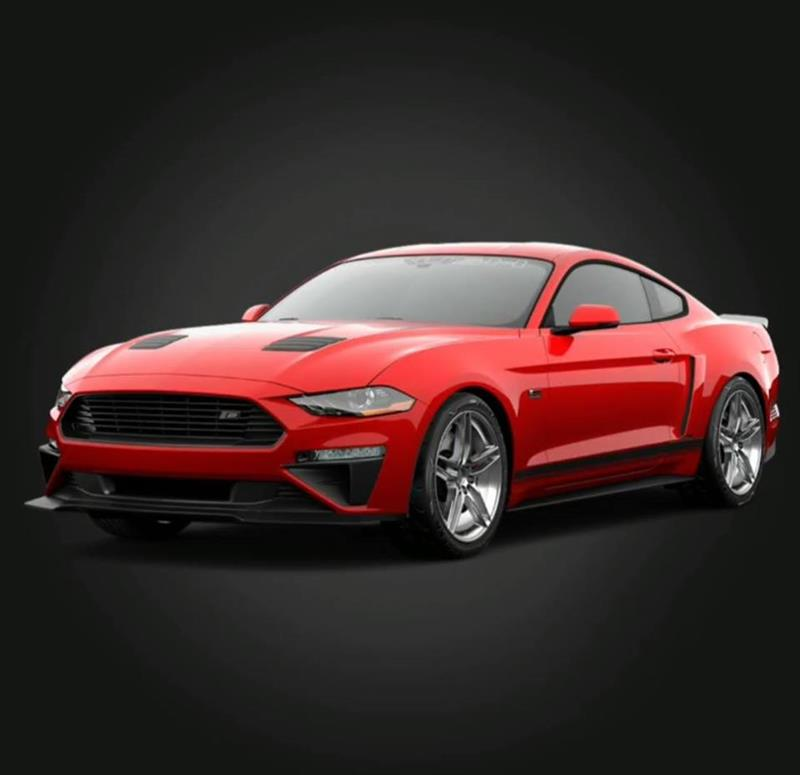 Red 2018 Roush Mustang - Red 2018 Roush Mustang