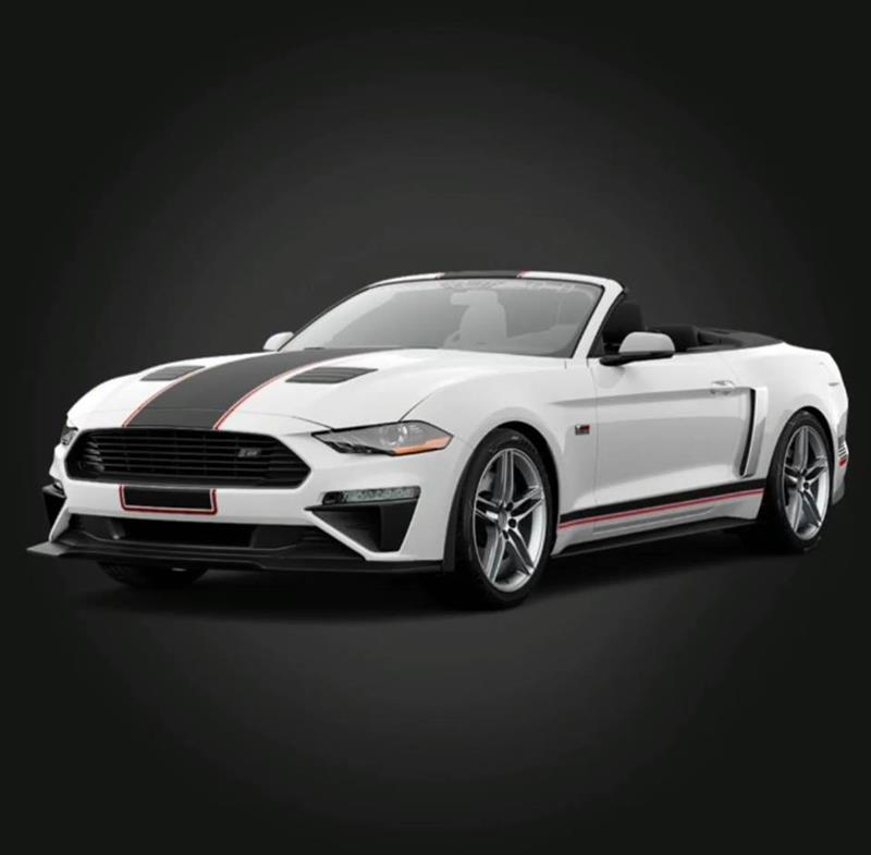 White 2018 Roush Mustang - White 2018 Roush Mustang