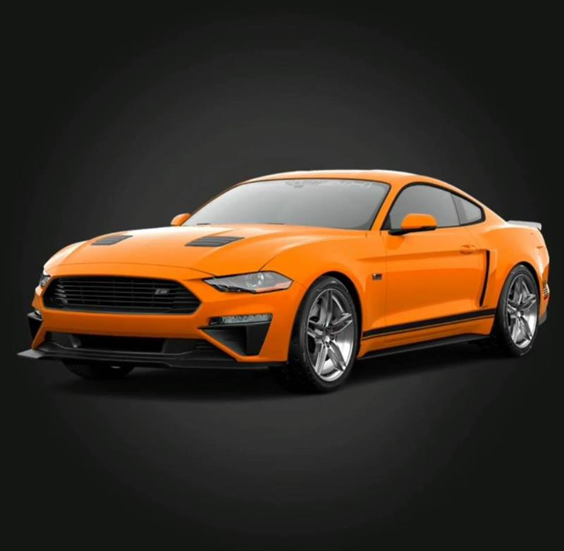 Orange 2018 Roush Mustang - Orange 2018 Roush Mustang