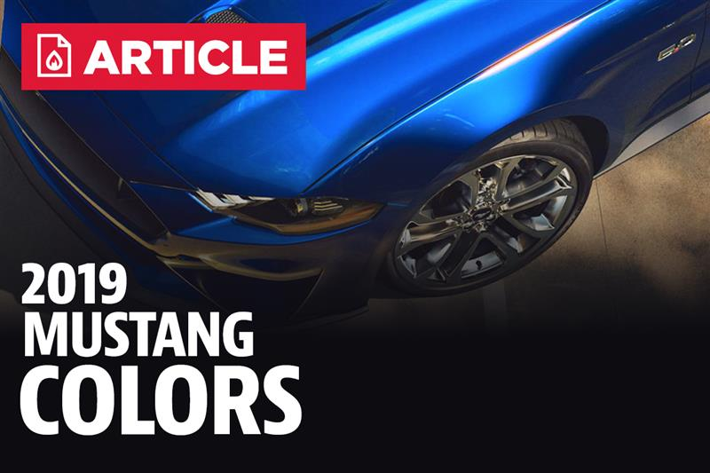 2015 Mustang Colors >> 2019 Mustang Colors - Options, Photos, & Color Codes
