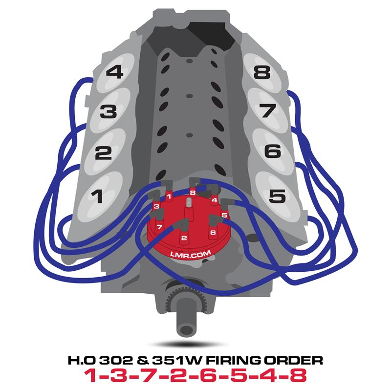 What Is The Firing Order For A Ford 302 Motor