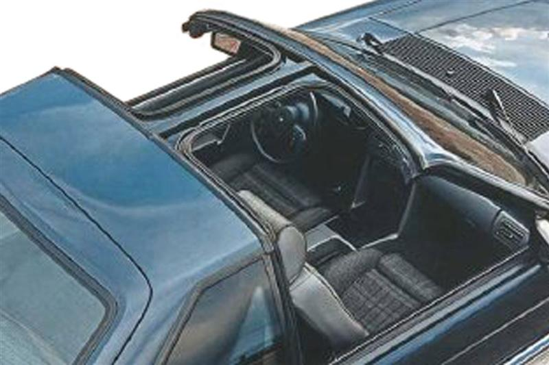 79 93 mustang t top sunroof components_6923 1979 1993 mustang t top & sunroof lmr com