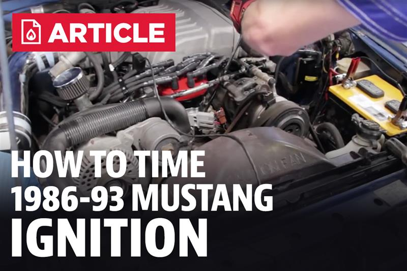 How To Time Your Mustang Ignition (86-93) - LMR com