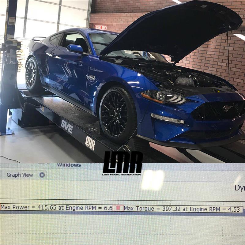 First 2018 Mustang GT Dyno Numbers - First 2018 Mustang GT Dyno Numbers