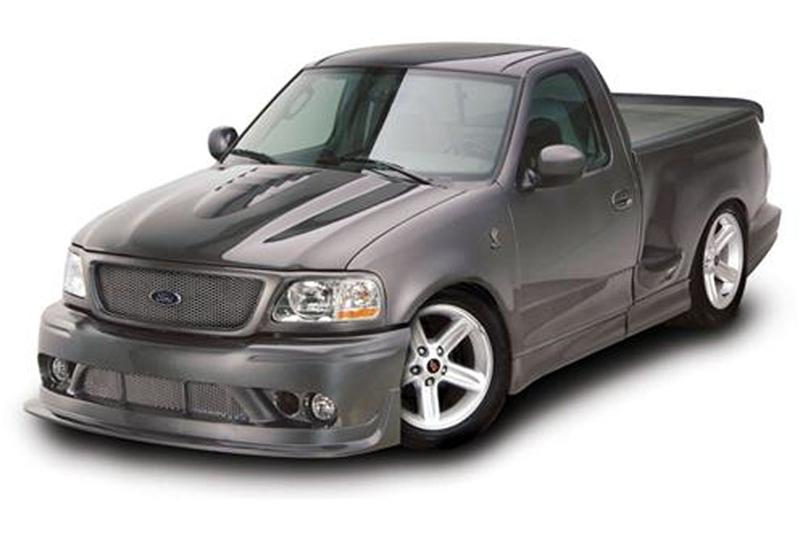 Ford Lightning Hood on 1994 Ford Lightning Engine