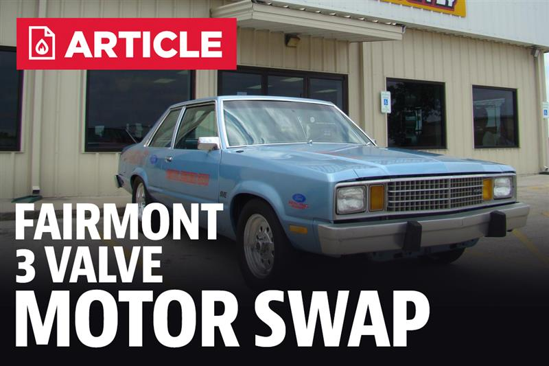Fox Body Fairmont 3V Motor Swap (4 6L Mustang Engine)