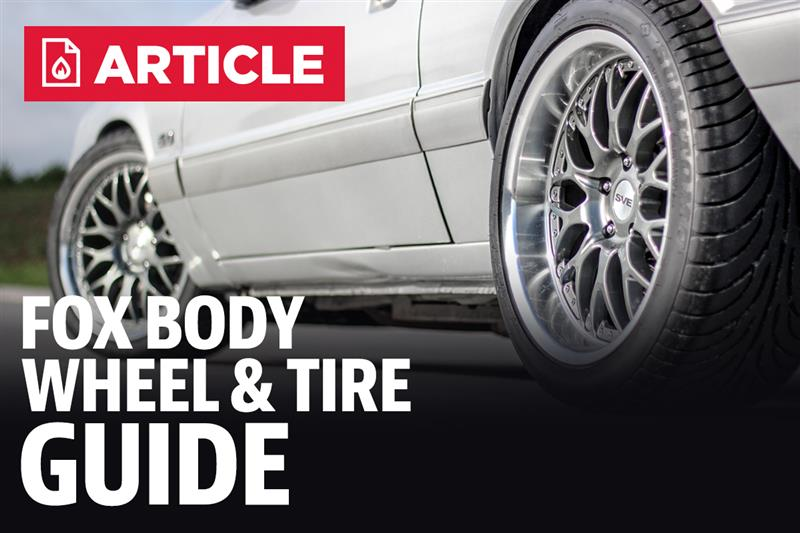 Fox Body Mustang Tire Guide 79 93 Lmr Com