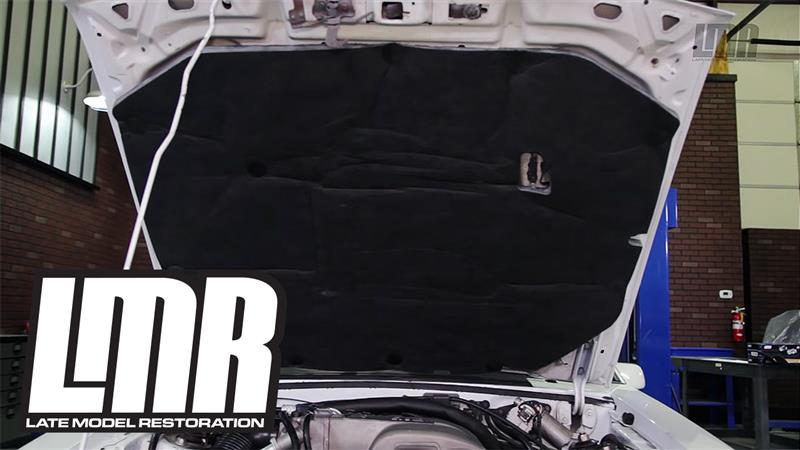 How To Install Fox Body Mustang Hood Insulator Lmr