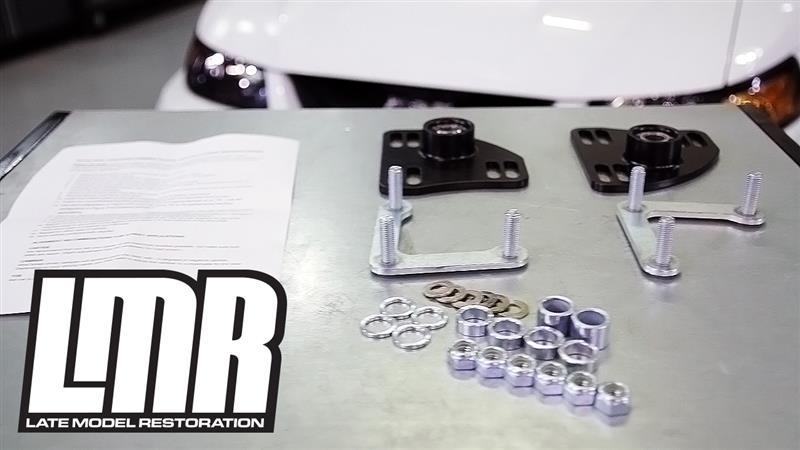How To Install Mustang Sve Caster Camber Plates 94 04 All