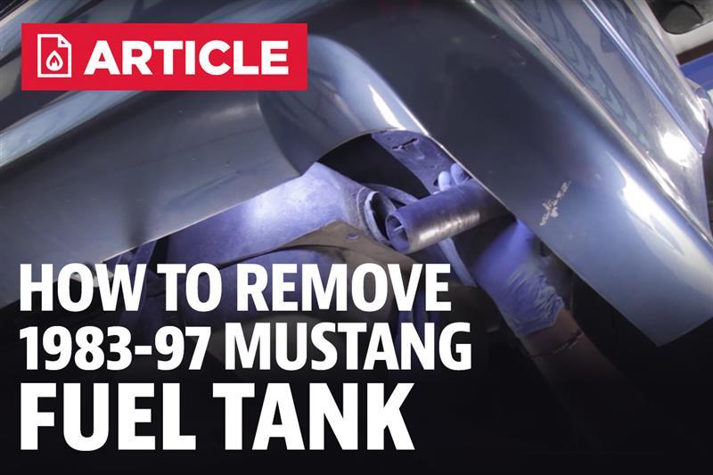 How To Remove Mustang Gas Tank 83 97 Lmr Com