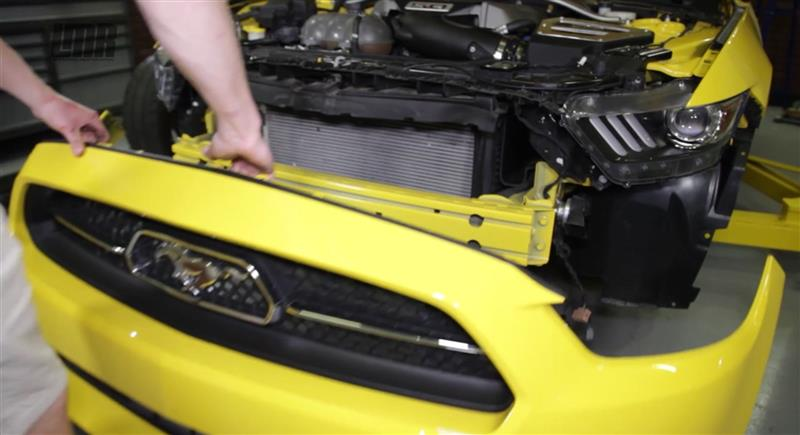 How To Remove 2015-17 Mustang Front Bumper - How To Remove 2015-17 Mustang Front Bumper