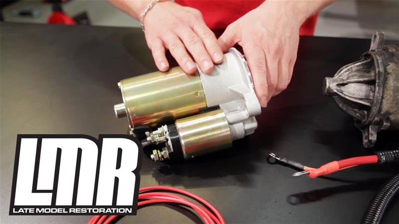 How To Replace A Fox Body Mustang Starter LMR com