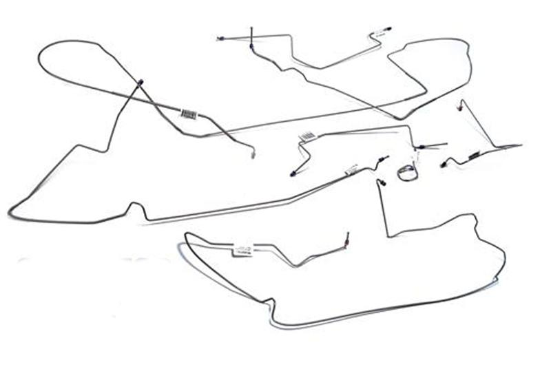 Mustang Brake Lines on 2009 Toyota Corolla Body Parts Diagram