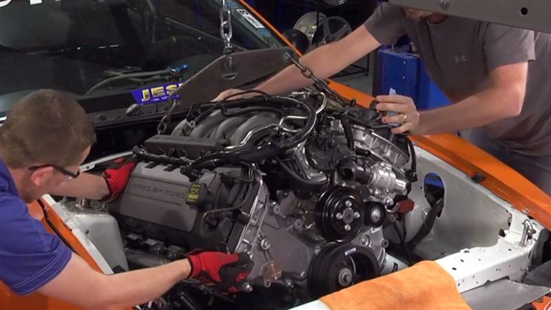 Project Coyote Swap 5 0l Engine Install Lmr Com