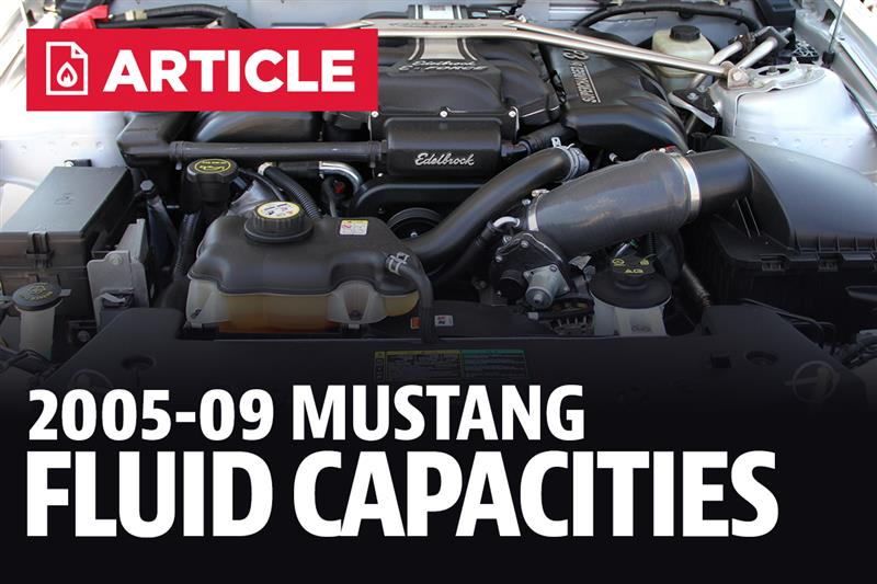 2008 mustang transmission fluid check