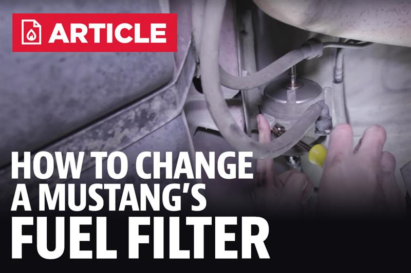 89 mustang fuel filter location how to change mustang fuel filter - lmr.com #8