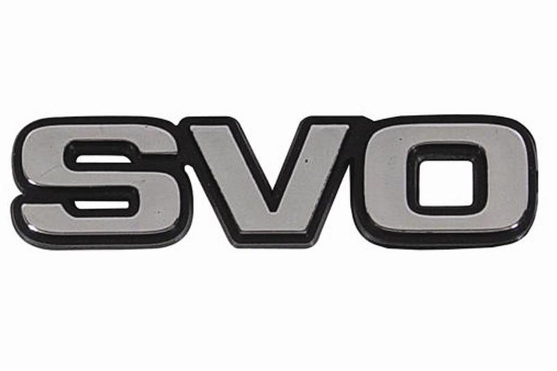 NEW FORD MUSTANG SVO EMBLEM